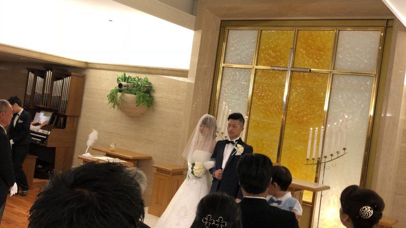 今日は結婚式参列の為、臨時休業になります。