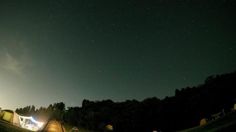 ドイツ村でキャンプ