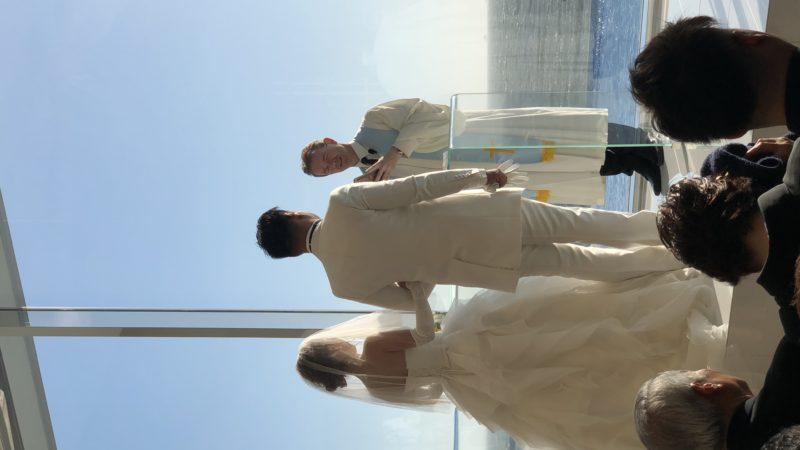 八木さん結婚式